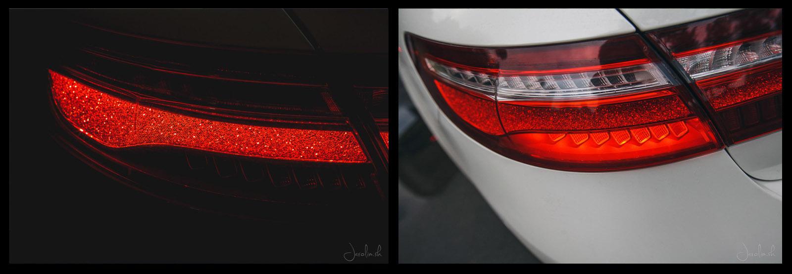 Svetlá Mercedes - Benz